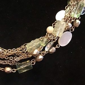 Lia Sophia TERRACE necklace, mother of pearl, NWT